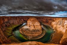 Free Horseshoe Bend Stock Photography - 109889362