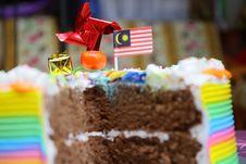 Free Close-up Of Birthday Cake Stock Photography - 109889392