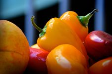 Free Yellow Bell Pepper In Close Up Photography Stock Images - 109889414
