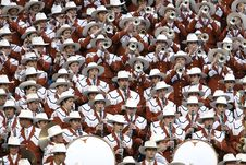 Free Group Of People In White Hat Playing Together Different Kinds Of Musical Instruments Royalty Free Stock Photo - 109889505