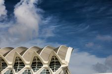 Free Low Angle View Of Building Against Cloudy Sky Royalty Free Stock Photo - 109889535