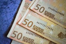 Free Close-up Of 50 Euro Money Stock Images - 109889564