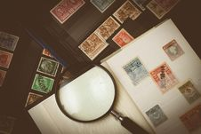 Free Stamp Collection Stock Photo - 109889680