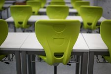 Free Chairs On Table Royalty Free Stock Photos - 109889818