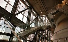 Free Low Angle View Of Staircase Royalty Free Stock Photography - 109889957