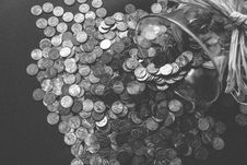 Free Bank, Banking, Black-and-white Royalty Free Stock Photography - 109890017
