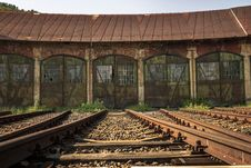 Free Railroad Tracks Stock Photography - 109890162