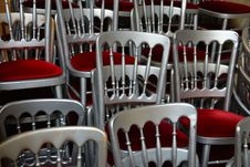Free Chair, Chairs, Chrome Stock Photo - 109890240