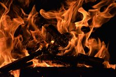 Free Ash, Blaze, Bonfire Stock Images - 109890364