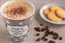 Free Caffeine, Cappuccino, Coffee Royalty Free Stock Photos - 109890488