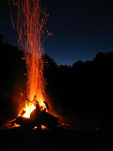 Free Blaze, Bonfire, Campfire Stock Photo - 109890560
