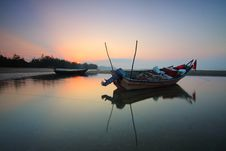 Free Beach, Boats, Clouds Stock Photos - 109890583
