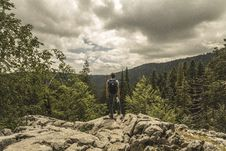 Free Adventure, Backpack, Clouds Stock Photo - 109890670