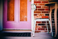 Free Bricks, Chair, Door Stock Photos - 109891183