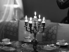 Free Black-and-white, Candlelight, Candles Stock Photo - 109891220
