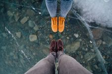 Free Bottom, Cold, Feet Stock Image - 109891781