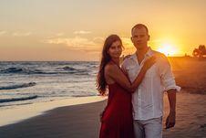 Free Affection, Beach, Couple Stock Images - 109891794