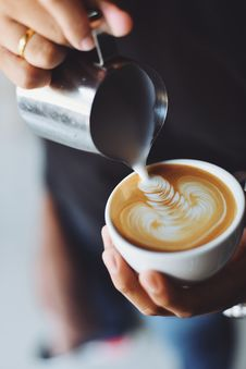 Free Blur, Caffeine, Cappuccino Royalty Free Stock Photos - 109891818