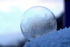 Free Close-up Of Frozen Water Stock Photo - 109892380