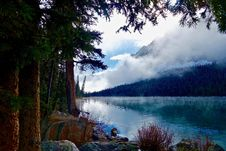 Free Scenic View Of Lake Against Cloudy Sky Royalty Free Stock Photo - 109892425
