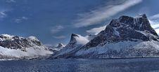Free Scenic View Of Lake Against Mountain Range Stock Photo - 109892660