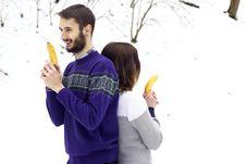 Free Adults, Bananas, Casual Stock Photography - 109892872