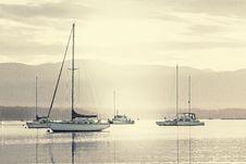 Free Sailboats Sailing On Sea Against Sky Royalty Free Stock Photo - 109892945