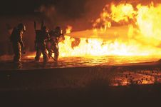 Free Fire, Firefighters, Firemen Royalty Free Stock Images - 109893079