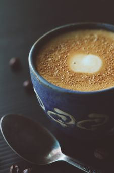 Free Beverage, Caffeine, Cappuccino Stock Photography - 109893192