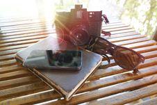 Free Book, Camera, Daylight Stock Photos - 109893393