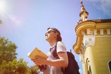 Free Architecture, Backpack, Backpacker Royalty Free Stock Image - 109893396