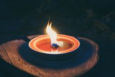 Free Burnt, Candle, Candlelight Royalty Free Stock Image - 109893456