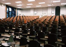 Free Audience, Auditorium, Chairs Stock Photos - 109893773