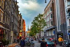 Free Amsterdam, Architecture, Bikes Royalty Free Stock Image - 109894366