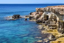 Free Beach, Boulders, Cave Stock Image - 109894901