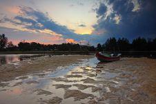 Free Beach, Boat, Dawn Stock Photo - 109895260
