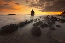 Free Afterglow, Beach, Beautiful Royalty Free Stock Photography - 109895637