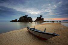 Free Beach, Beautiful, Boat Royalty Free Stock Image - 109895826