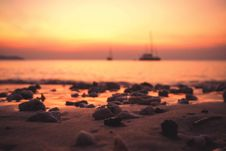 Free Beach, Blur, Boat Royalty Free Stock Image - 109896006