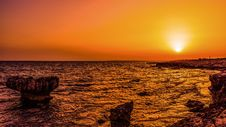 Free Backlit, Beach, Cyprus Stock Images - 109896084