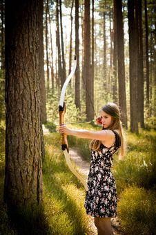 Free Archery, Beautiful, Beauty Royalty Free Stock Image - 109896086