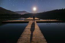 Free Alone, Blue, Dark Royalty Free Stock Image - 109896186