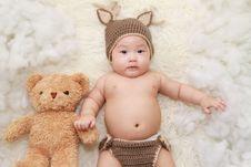 Free Adorable, Baby, Beanie Stock Photography - 109897082