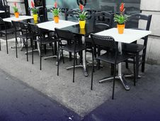 Free Bistro, Cafeteria, Chairs Stock Image - 109897571