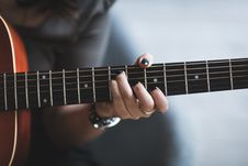 Free Chord, Close-up, Guitar Stock Photos - 109897613