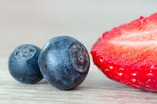Free Berries, Blueberries, Blur Stock Photography - 109897902