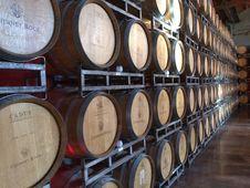 Free Alcohol, Barrel, Basement Stock Photography - 109898012