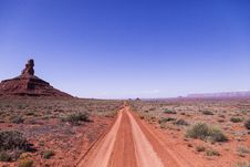 Free Brown Soil Road Under Clear Sky Stock Photo - 109898040