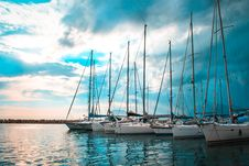 Free Bay, Clouds, Harbour Stock Photography - 109898302