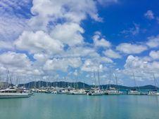 Free Bay, Blue, Boats Royalty Free Stock Image - 109898456